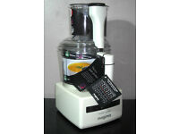 Magimix Compact 3200XL 3 in 1 Food Processor White