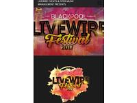 4 tickets for Livewire Festival Friday 25th (jacksons)