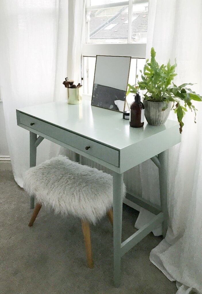 Used Desk For Sale >> West Elm Mini Desk / Dressing table | in Brighton, East Sussex | Gumtree