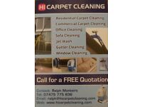 Hi Carpet cleaning/Window cleaning/Gutter cleaning/Jet wash Patio/ End of tenancy cleaning cleaning