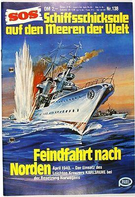 SOS Schiffsschicksale auf den Meeren der Welt Band 138 in Z2+ Pabel