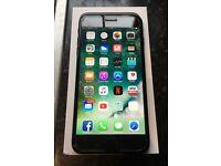 iPhone 7plus 256gb mint Matt black trade for MacBook plus iPhone 6