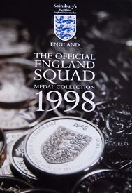 COINS The official Set Medal Squad in top condition.£15.Football memorabilia
