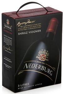 Nederburg Foundation Shiraz/Viognier 3,0l Bag in Box, 13,5%, Rotwein Südafrika