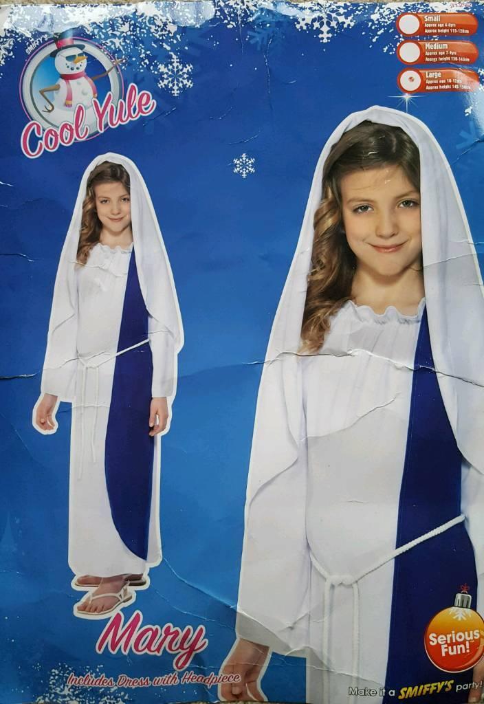 Mary Nativity Dress Age 10/12