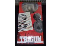 Trigun Vash the Stampede action figure still boxed and in great condition