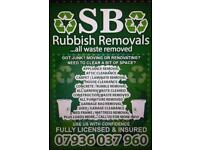 SB RUBBISH REMOVALS