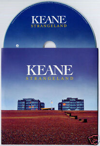 KEANE-Strangeland-Sampler-UK-6-trk-promo-numbered-test-CD