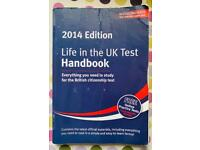 Life in UK Test Hand book and Practice questions £3 for sale  Reading, Berkshire