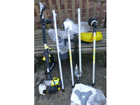 Titan 52cc 1.9kw 5 multi tool hedger strim chainsaw/pruner brushcutter extension AS NEW