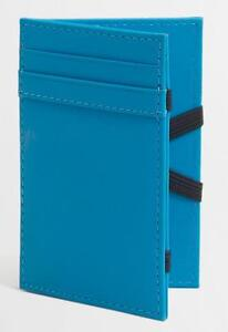 J CREW INSIDE OUT MAGIC WALLET LEATHER CHATHAM BLUE NWT