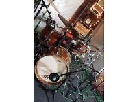 Tee Drums birch drum kit (STUNNING!)