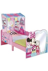 Minnie Mouse Toddler Bed & Mattress