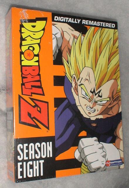 Dragon Ball Z: Season 8 Eight UNCUT Dragonball DVD Box Set - BRAND NEW & SEALED