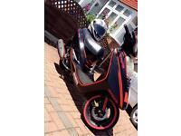 Yamaha Vity 125cc Moped Scooter