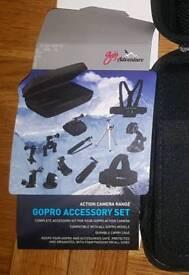 GOJI Adventure GOPRO Accesory set