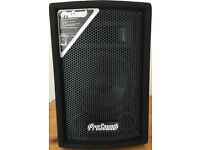 "Prosound L63BK - pair 100W 8"" Loudspeakers"
