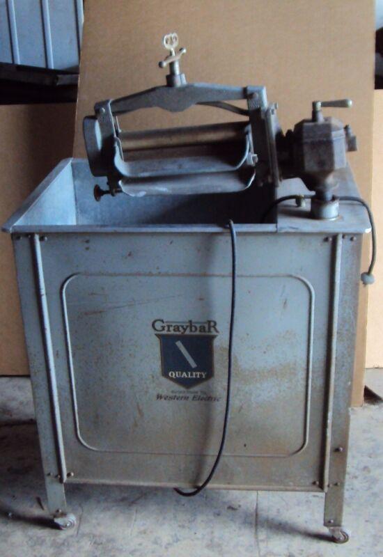 RARE ANTIQUE GRAYBAR CLOTHES WASHING WASHER MACHINE - ELECTRIC 1925