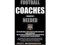 Kids football coach needed