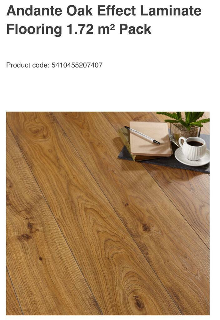 18 2 Slightly Damaged Packs Of Quickstep Adante Oak Effect Laminate Floor