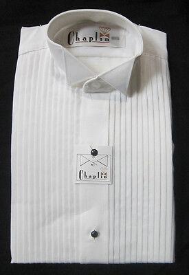 Ladies Tuxedo - New White Ladies Wing Collar Tuxedo Shirts Butterfly Tip Woman Shirt Waitress