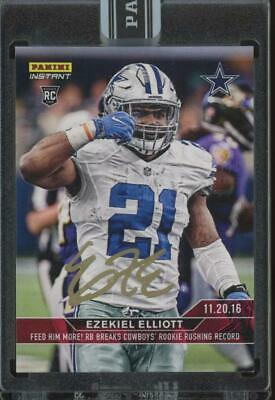 2016 Panini Instant #231 Ezekiel Elliott 25/25 Auto Autograph RC Rookie