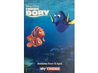 Finding Dory Poster Print Borderless - Sky Promotion Poster.