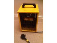 heater kingavon powerfull 3000w BB-FH206 yellow black