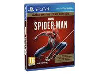 Spider-Man game PS4