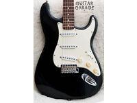 1997 FENDER USA American Stratocaster California Series Black guitar - RARE! CAN POST!