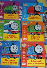 Thomas the Tank Engine Reading Books x 6