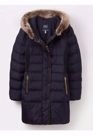 BRAND NEW JOULES WINTER PADDED COAT-SIZE 8-FREE DELIVERY