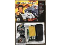 Nintendo 64 N64 Limited Edition Goldeneye console, game pad controller rare