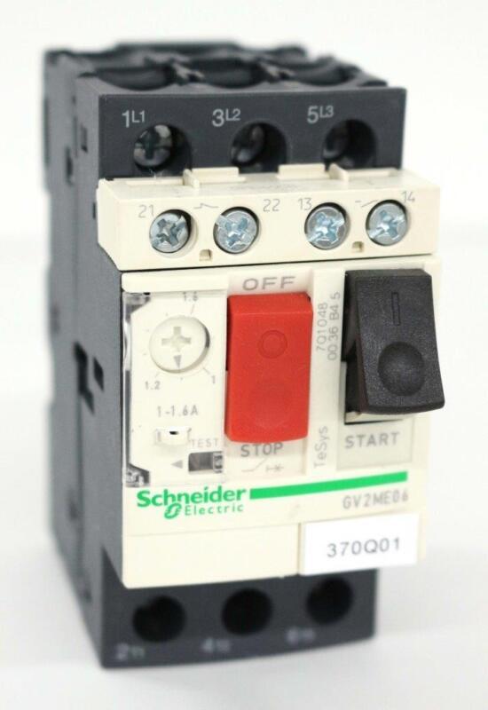 Schneider Electric TeSys GV2ME06 Motor Starter