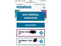 Friday Wireless 2018 Ticket For Sale