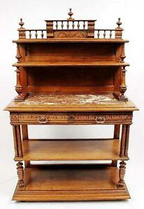 Antique French Renaissance Sideboard Buffet