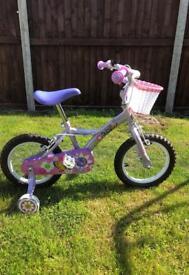 "Girls Apollo 14"" bike- Like new!!"