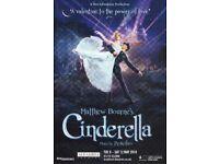 Michael Bourne's Cinderella tickets - Bradford