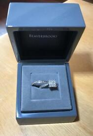 Wedding and Engagement Ring White Gold