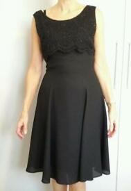 Ladies cocktail dress size 8 as new