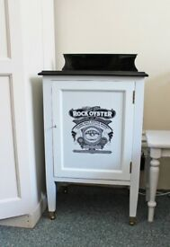 Lockable drinks cabinet, upcycled