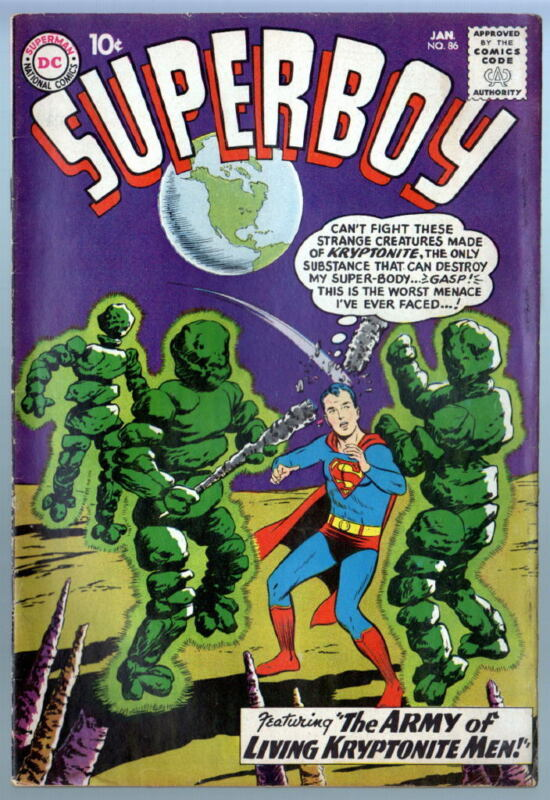 SUPERBOY 86 4th Legion Appearance 1961 Intro Pete Ross