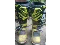 Fly maverick motocross boots
