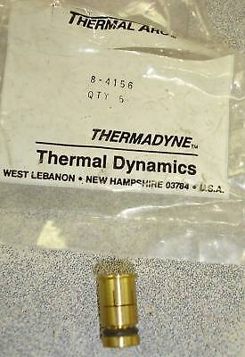 Package Of 5 Thermal Dynamics Arc 8-4156 Collet Plasma 105 Pch-4b