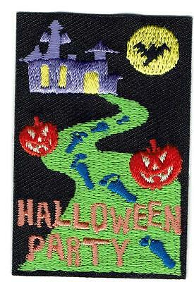 Girl Boy Cub HALLOWEEN PARTY Fun Patches Crests Badges SCOUT GUIDES Celebration](Fun Halloween Party)