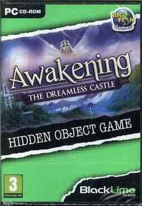 Awakening, The Dreamless Castle, Hidden Object PC Game, Black Lime No. 4, NEW