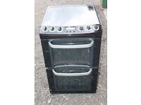 6 MONTHS WARRANTY Electrolux 55cm wide, double oven electric cooker FREE DELIVERY