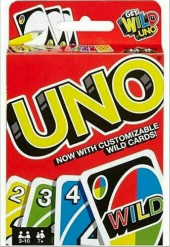 UNO Card Game - Free Shipping by USPS First Class Package - US Seller -Brand New