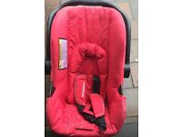 Mothercare buggy with car seat