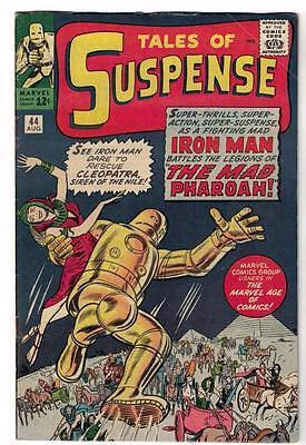 MARVEL Comics TALES OF SUSPENSE #44  AVENGERS 1963 FN 6.0 IRON MAN